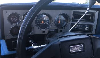 1986 GMC Sierra 1500 full